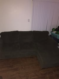 Used Ashley Six Piece King Sligh Bedroom Set For Sale In