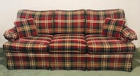 red, black, and white plaid sofa Dumfries, 22025
