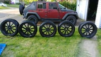 Jeep wheels and tires Canton