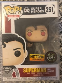 Superman from Flashpoint Chase Funko Pop Las Vegas, 89178