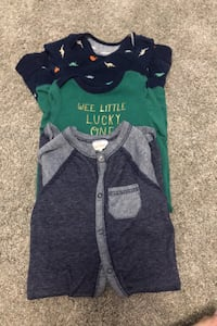 Infant boy clothes, 3 pieces 6 months and 6-9 months. Wyoming, 49519