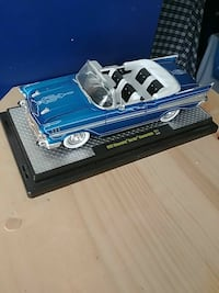 1967 blue Chevrolet Bel Air convertible scale model Surrey, V3S 7L4