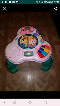 baby's white and green activity table El Paso, 79915
