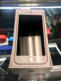 rose gold iPhone 6 on box