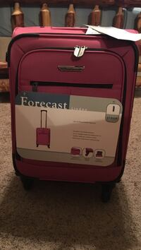 Light burgundy  forecast linden luggage Lubbock, 79416