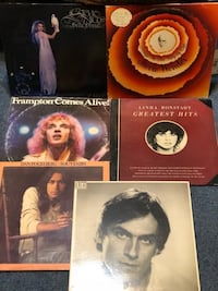 2. Assorted Albums $15 each