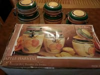 Apple Harvest Canister Set