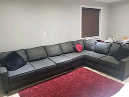 Custom L Shaped Sectional W/ Queen Pullout Bed