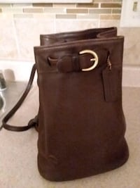 Coach purse/back pack/Real Leather Hanover, 21076