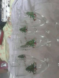 Set of 6 Christmas champagne  flutes Kissimmee, 34746