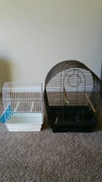 two black and white pet cages Richmond, 23228