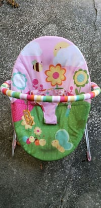 baby's pink and green bouncer Clearwater, 33756