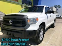 Toyota - Tundra SR 4×4- 2014 $2400 DOWN PAYMENT Humble