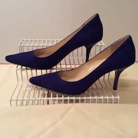 """CALVIN KLEIN SUEDE """"DOLLY"""" shoes (size  5 1/2) 235 km"""