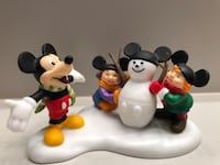 Mickey Builds a Snowman Dept 56 Disney Showcase Collection Livonia, 48150