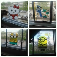 Hello kitty stained glass art Gatineau, J8Z 1T7
