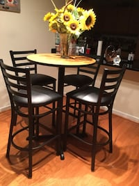 Brand New Pub Table & 4 Pub Chairs Falls Church