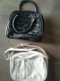 2 purses 1 black 1 cream Kitchener, N2K 4J7