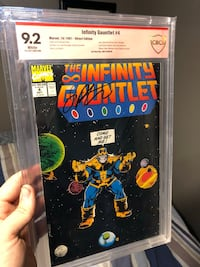 Infinity Gauntlet 4 signed by Jim starlin  Bolton, L7E 1Z3