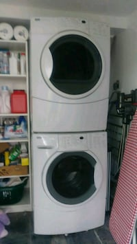 white front-load washer and dryer set Brookeville, 20833