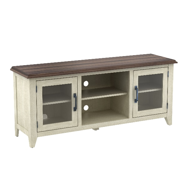 """Bell'o wilderness run tv stand for tvs up to 60"""", brushed white"""