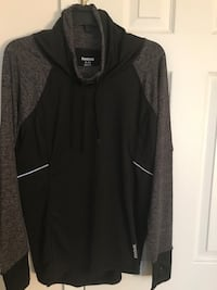 black and gray Reebok cowl sweater Centreville, 20120