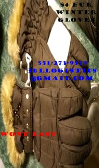brown and black fur jacket Paterson, 07501