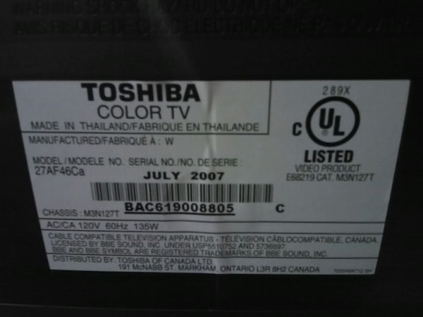 Free TV -pick up only -working condition  f2ab645d-88db-47fc-ba04-77a4c9570c99