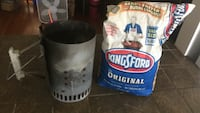 Charcoal chimney and a FREE bag of charcoal w/ purchase Ridgefield, 07657