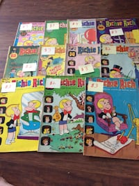 JUST REDUCED comic books Richie Rich (14)    Rockville