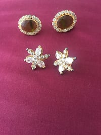 Earring 2 pairs each $ 5 both for $ 10  Severn, 21144
