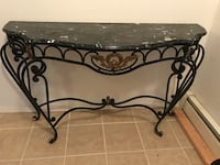 Green Marble console hallway entry table antique Rahway, 07065