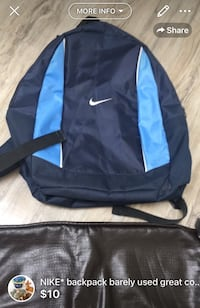 NIKE* backpack barely used great condition London, N5W 6E2