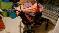 Bob Revolution Jogging Stroller with front tray