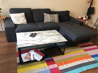 Blue Sofa from IKEA condition like new null