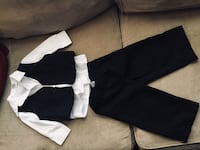 Baby vest, shirt and pants outfit (black) size 6-12 months  No holds  Posted on other sites  Located southend of Regina  Regina, S4S 1K1