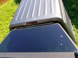 Gray cap for 6 ft truck bed hardware included