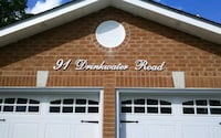 Custom home address signs Markham