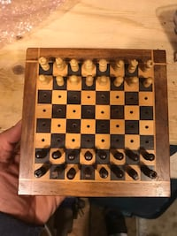 Portable mini Chess Board Toronto, M2J 4X4