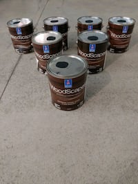 7 NEW Gallons! Sherwin Williams Woodscapes Stain Chester