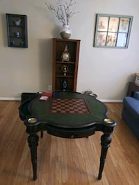 Vintage Chess checkers poker game table Montgomery Village, 20886