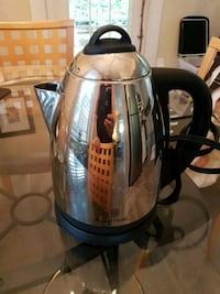 stainless steel and black electric kettle Hamilton, L8L 7R4