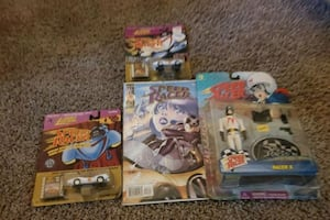 Toys. Old speed racer