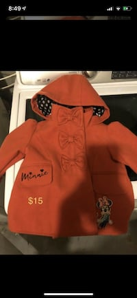 Toddler girl jackets