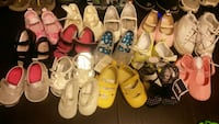 O-3 to size 3 shoes for little girls first year Eddington, 04428