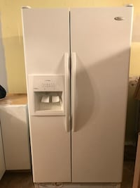 white side-by-side refrigerator with dispenser Thomasville, 27360