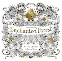 Enchanted Forest Coloring Book: Special Artist's Addition  Alexandria