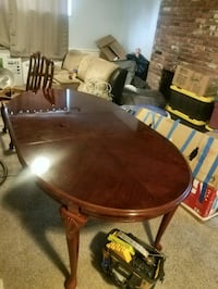 Cherrywood table with 6 chairs dining s Spokane, 99223