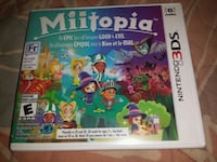 Like new Miitopia Nintendo 3DS game complete in ca Mississauga, L5G 1G8