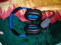 black and blue corded headphones Rockville, 20851
